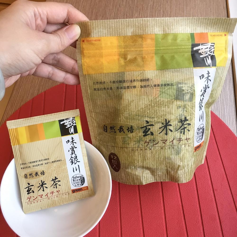 紅夾子@輕頑味。吃銀川有機玄米茶